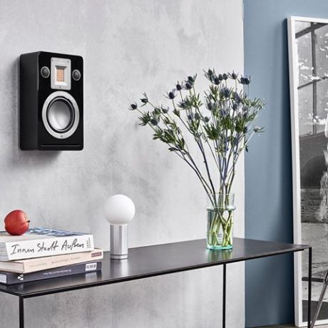Audiovector QR on WALL