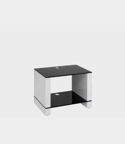 BLOK STAX 450X bílý lesk, černé sklo