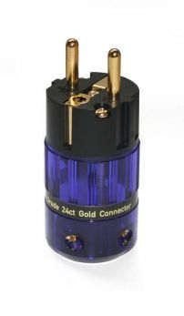 IsoTek 24ct Gold EU Shuko connector