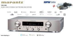 Marantz NR1200 + high-endový síťový kabel SUPRA LoRad 2.5 CS-EU v délce 1,0m