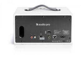 Audio Pro C5 přenosný multi-room reproduktor/bílá