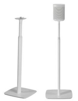 Flexson nastavitelný podlahový stojan pro Sonos One, One SL a Play:1 bílý, pár