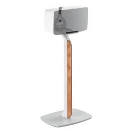 Flexson prémiový podlahový stojan pro Sonos Play:5 bílá/dub, 1 ks