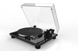 Gramofon Thorens TD-201 + ortofon černé