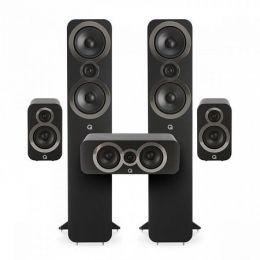 Q Acoustics Q3050i set černá (2x3050i + 2x3010i + 1x3090Ci)