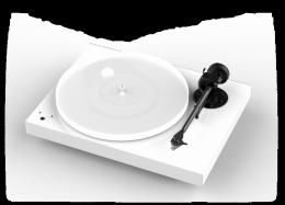 PRO-JECT X1 WHITE + PICK IT S2 MM