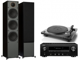 Denon DRA800H+DP450USB+ Monitor Audio Monitor 300 3G