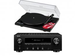 Denon DRA800H + gramofon Pro Ject RS