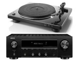 Denon DRA800H + DP400