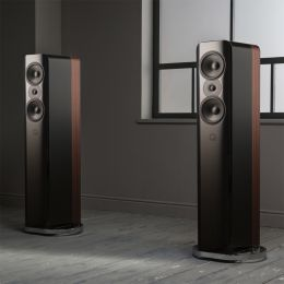 Q Acoustics Q Concept 500 repro sloup/černá/rosewood - pár