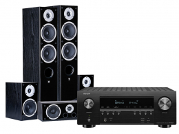 Denon AVR-S950H + Wilson RAPTOR 7/MINI/VOCAL Black