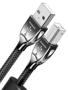 AUDIOQUEST Diamond USB AB  0,75m