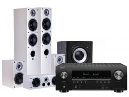 Denon AVR-S950H Black + Wilson RAPTOR 5/1/VOCAL/SUB-9 White